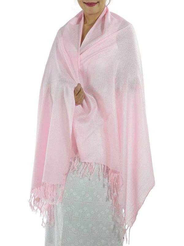 pink pashmina wrap