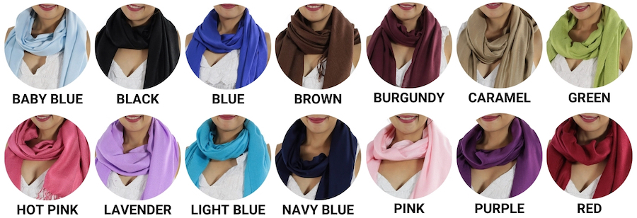 where to buy pashmina scarves online
